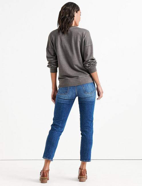 PLEAT FRONT PULLOVER, 001 LUCKY BLACK