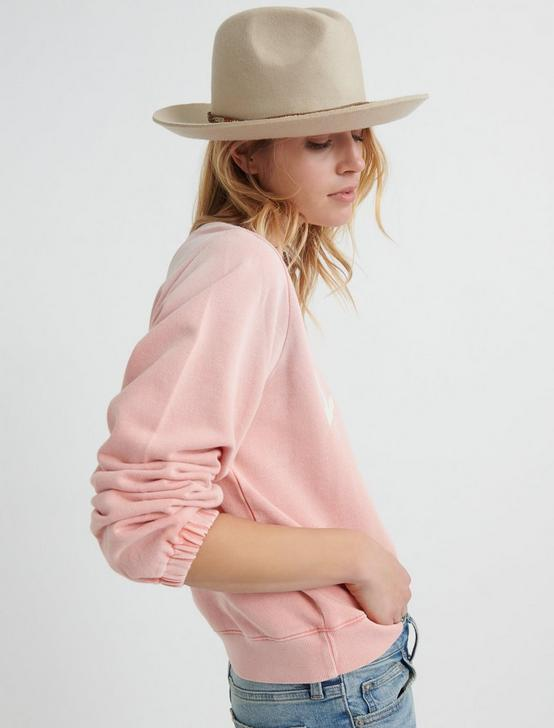 LUCKY WASHED PULLOVER, LOBSTER BISQUE, productTileDesktop
