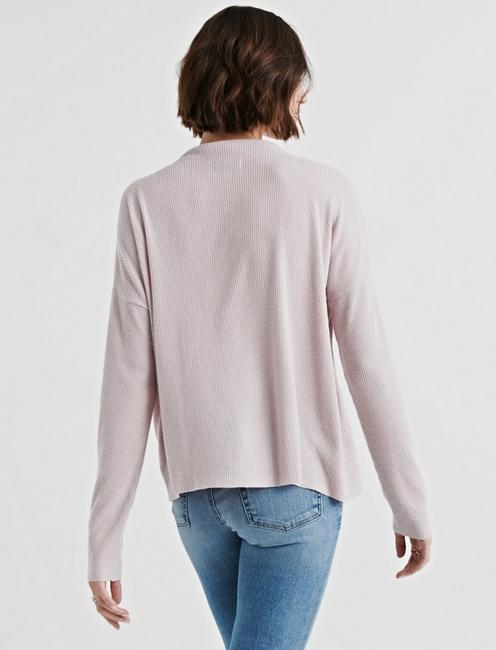 CLOUD JERSEY PULLOVER, BLUSH