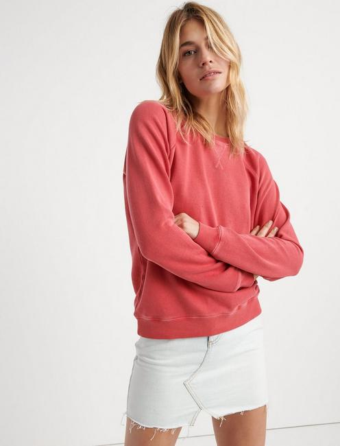 CLASSIC CREW NECK SWEATSHIRT, #6726 CHRYSANTHEMUM
