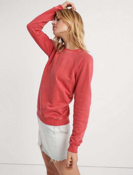 CLASSIC CREW NECK SWEATSHIRT, #6726 CHRYSANTHEMUM, productTileDesktop