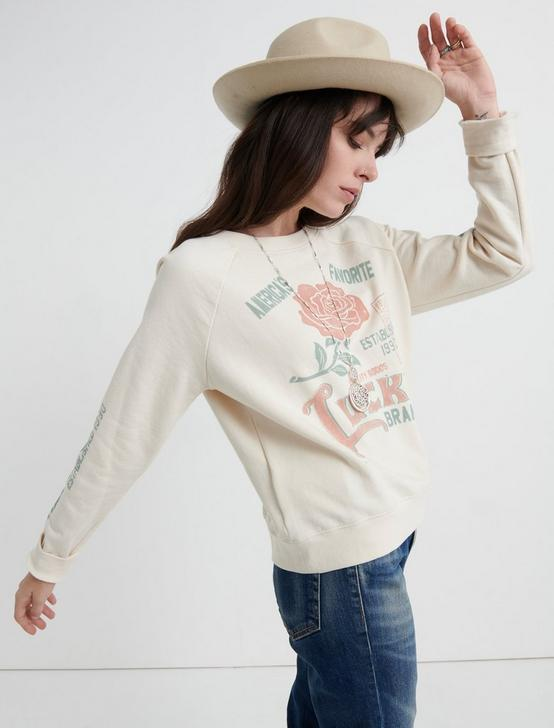LUCKY ROSE PULLOVER, CREAM, productTileDesktop