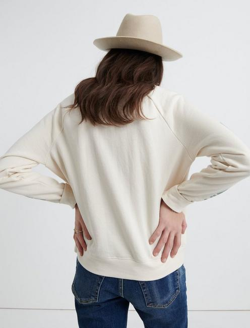 LUCKY ROSE PULLOVER, CREAM