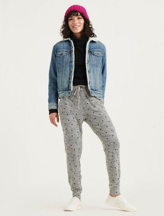 CLOUD JERSEY JOGGER, POLKA DOT, productTileDesktop