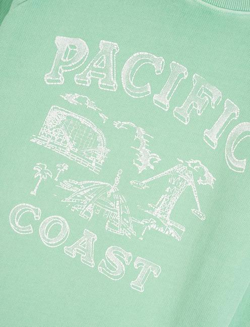 PACIFIC COAST SWEATSHIRT, GREEN ASH