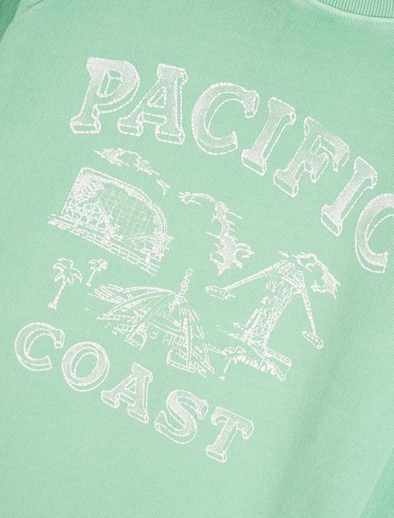 PACIFIC COAST SWEATSHIRT, GREEN ASH, productTileDesktop
