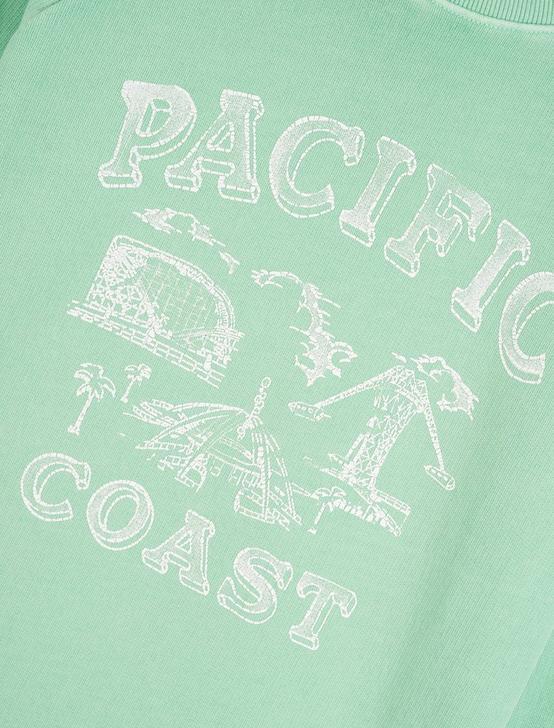 PACIFIC COAST SWEATSHIRT, GREEN ASH, productTileDesktop