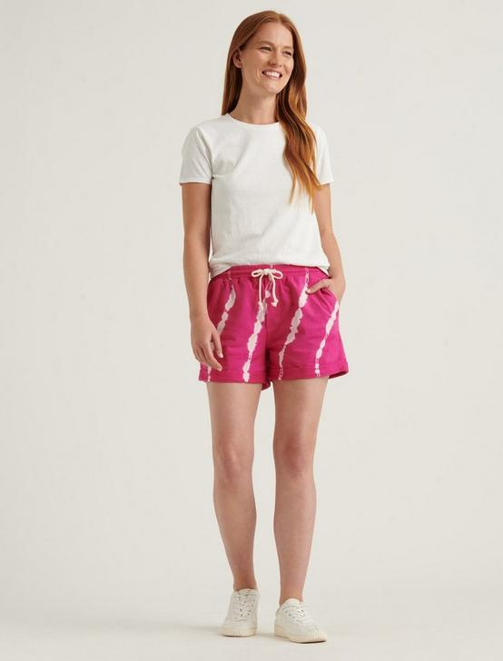 TIE DYE SHORTS, PINK MULTI, productTileDesktop