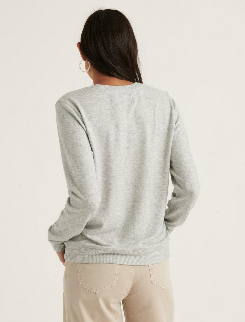 EMBROIDERED CLOUD JERSEY PULLOVER, image 4