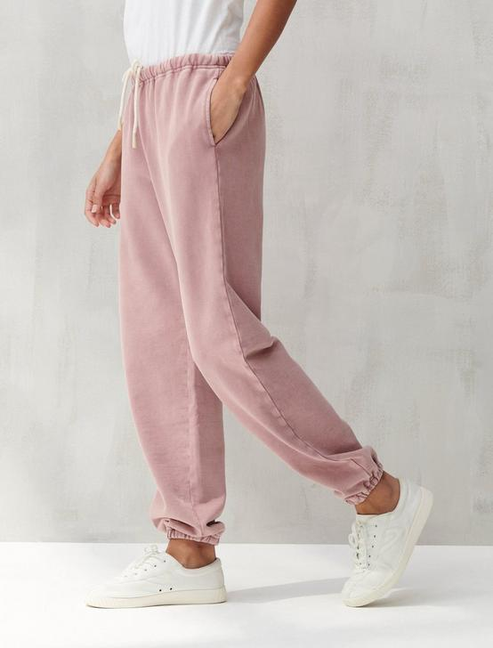SUEDED TERRY JOGGER, ROSE, productTileDesktop