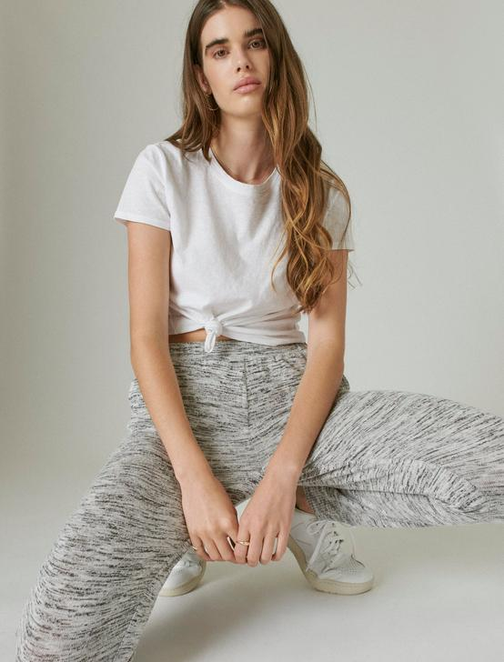 CLOUD JERSEY EASY JOGGER, HEATHER GREY, productTileDesktop