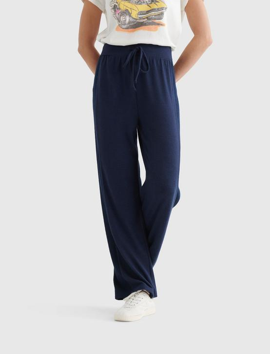 CLOUD JERSEY RIB MIX PANT, AMERICAN NAVY, productTileDesktop
