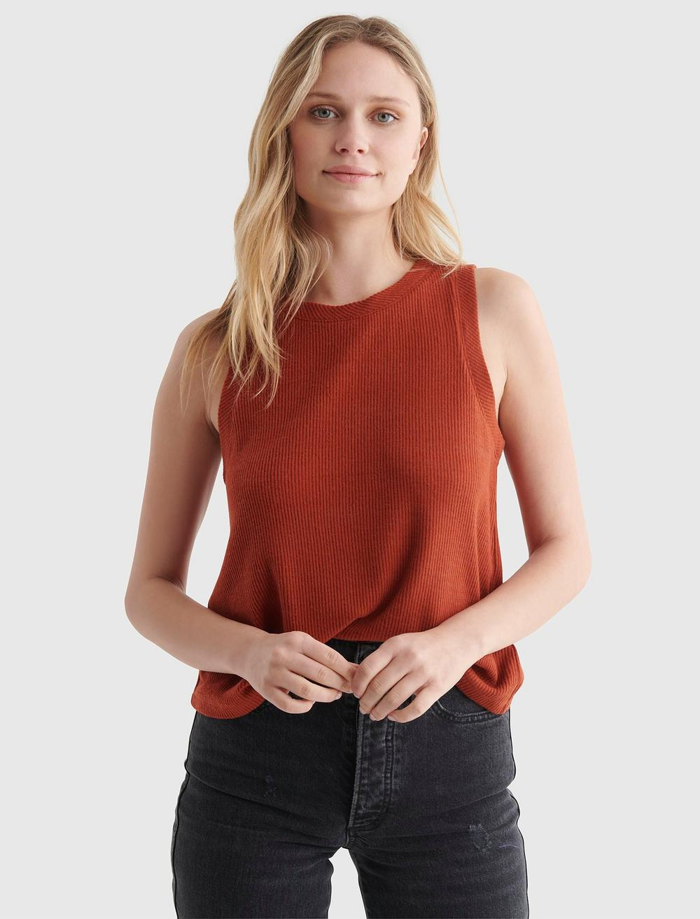 CLOUD JERSEY RELAXED TANK, image 1