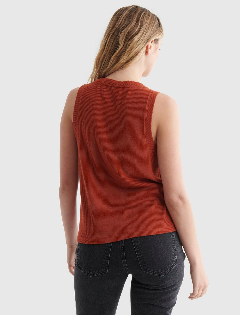 CLOUD JERSEY RELAXED TANK, image 5