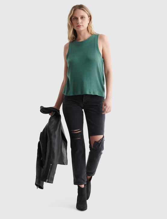 CLOUD JERSEY RELAXED TANK, SAGE BRUSH GREEN, productTileDesktop