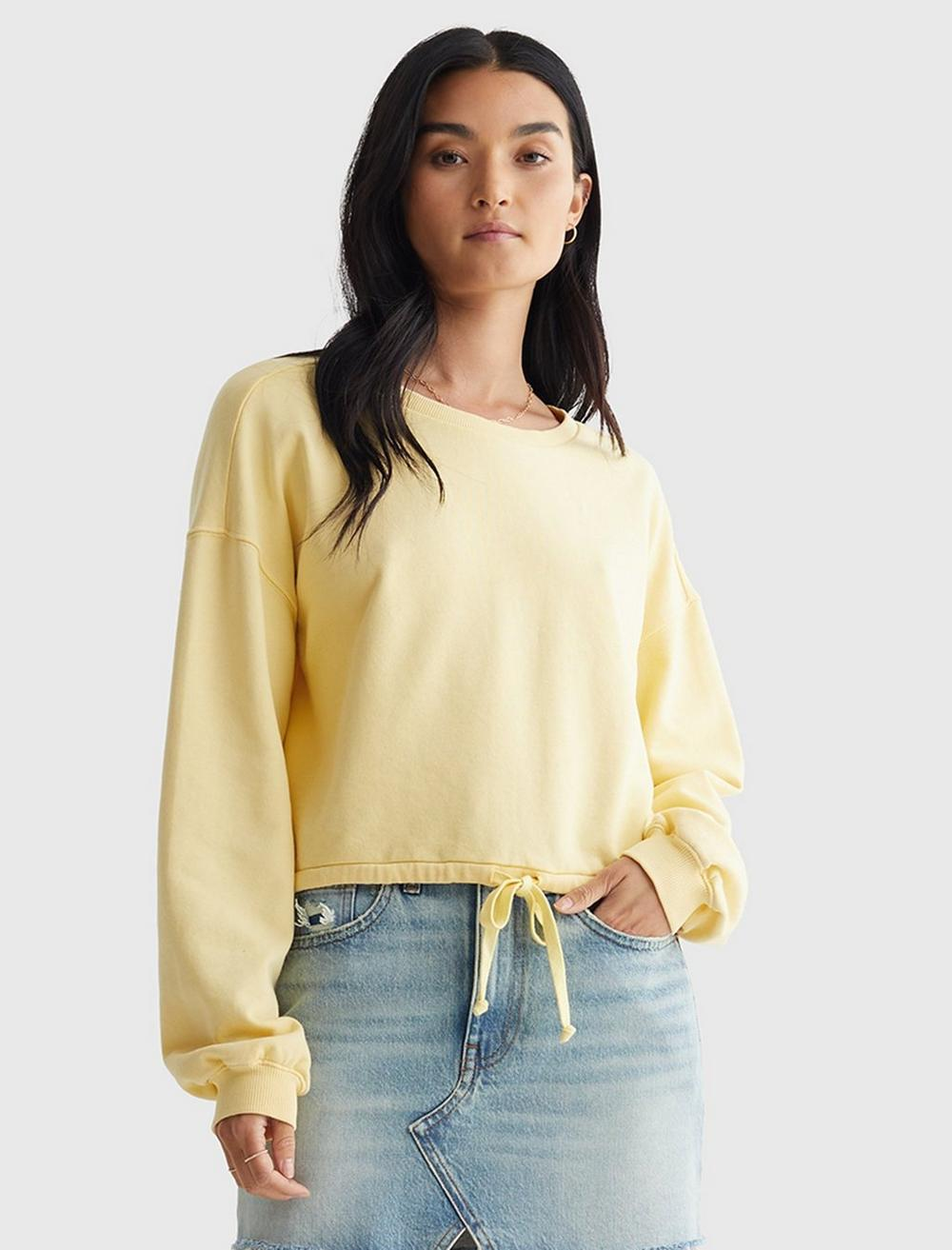 COOL FOR SUMMER CROPPED CREW, image 1