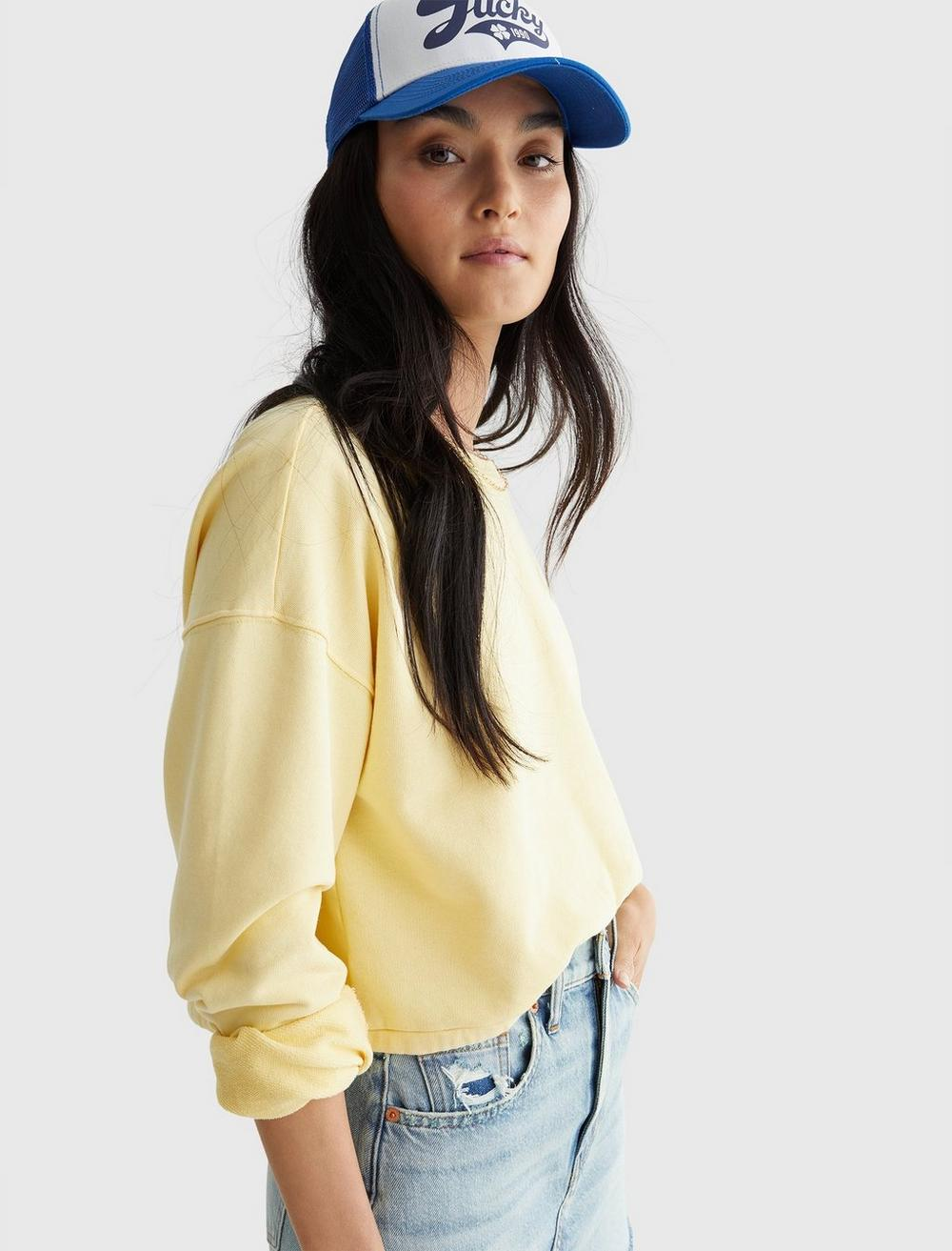 COOL FOR SUMMER CROPPED CREW, image 3
