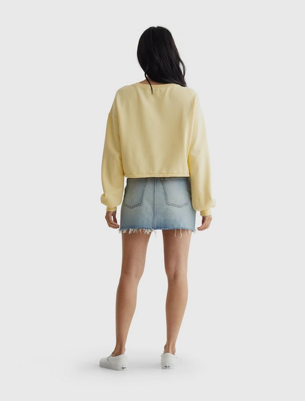 COOL FOR SUMMER CROPPED CREW, image 5