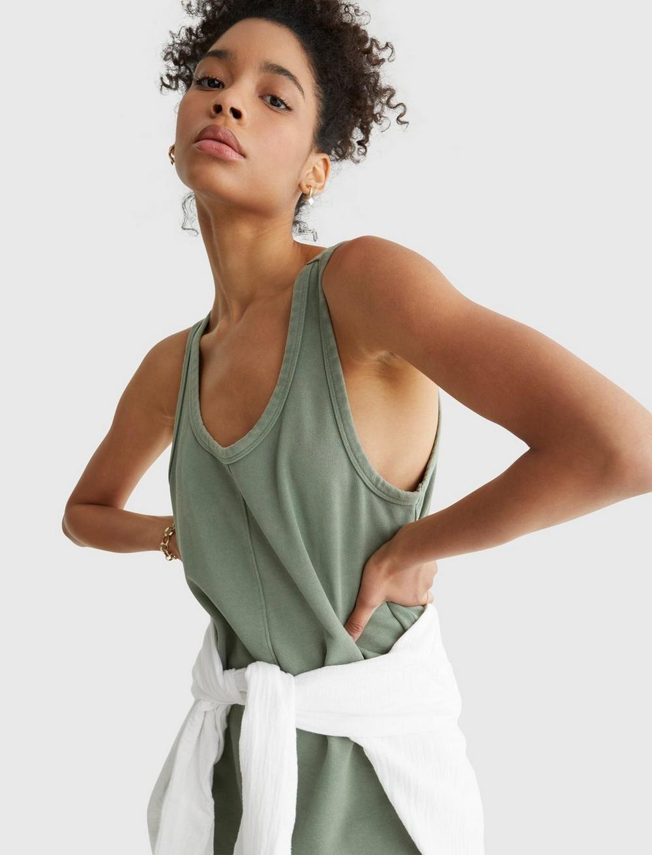 TANK SWEATSHIRT DRESS, image 5