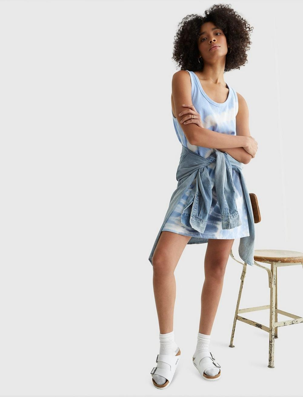 TANK SWEATSHIRT DRESS, image 2