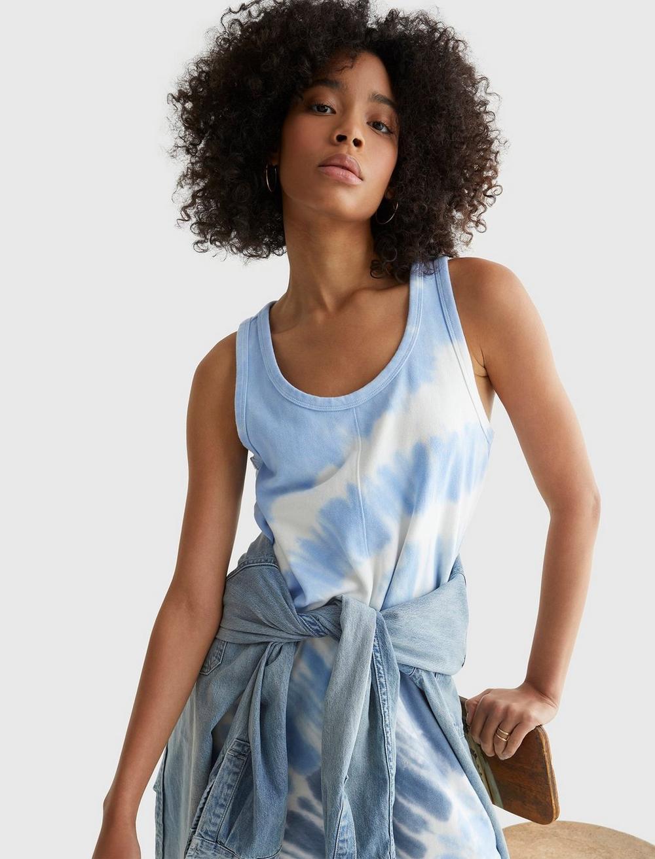 TANK SWEATSHIRT DRESS, image 7