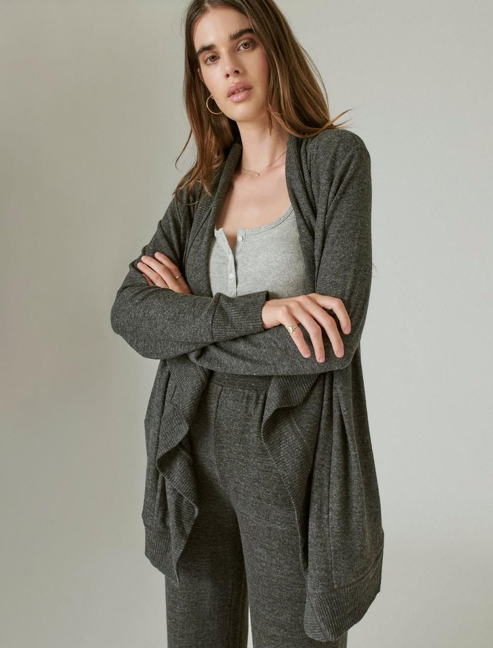 CLOUD JERSEY OPEN FRONT CARDIGAN, image 1