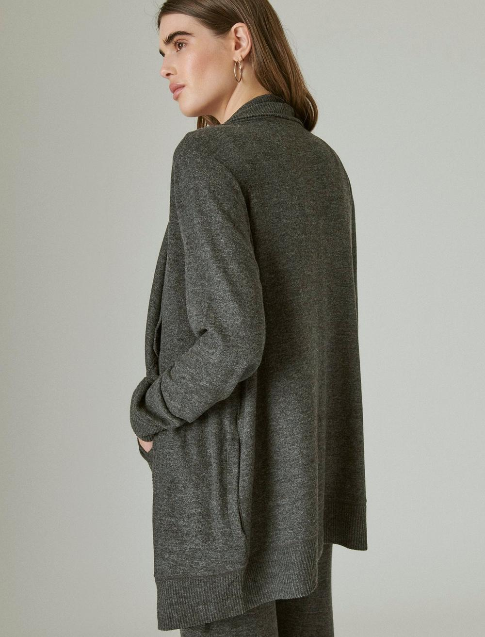 CLOUD JERSEY OPEN FRONT CARDIGAN, image 6