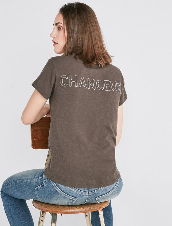 CHANCEAUX CREW TEE, BLACK MOUNTAIN, productTileDesktop
