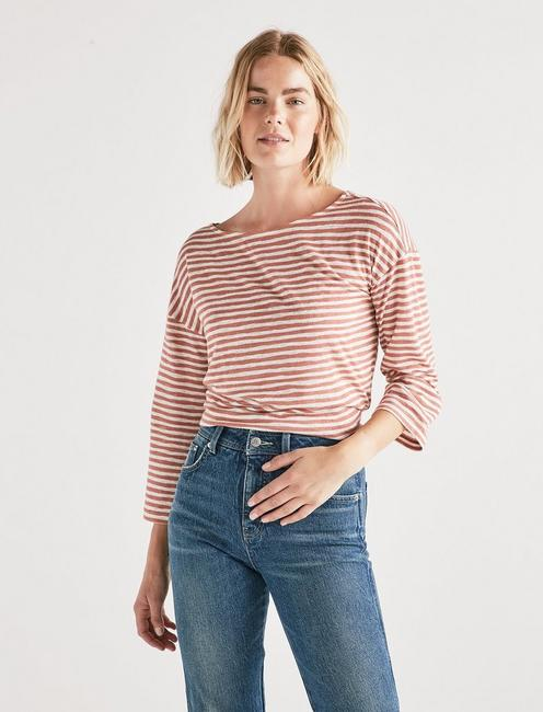 Lucky Boat Neck Top