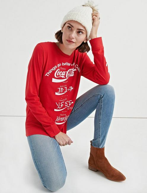 Lucky Coca Cola Language Tee