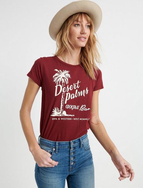 DESERT PALM TEE, #6675 CHERRIE JUBILEE