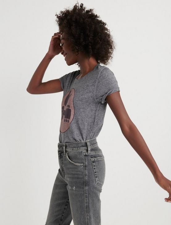 WOODSTOCK TEE, HEATHER GREY, productTileDesktop