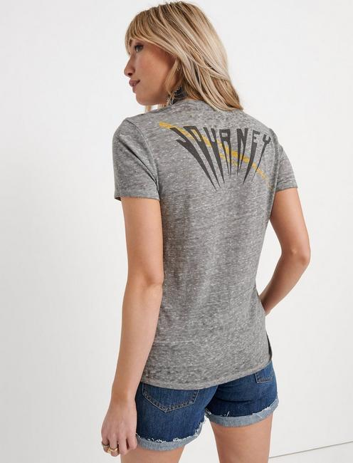 JOURNEY ANYWAY YOU WANT IT TEE, HEATHER GREY
