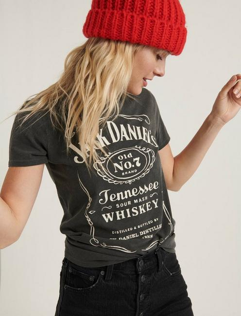 JACK DANIELS WHISKEY TEE, 001 LUCKY BLACK