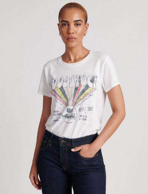 Woodstock Tee by Lucky Brand