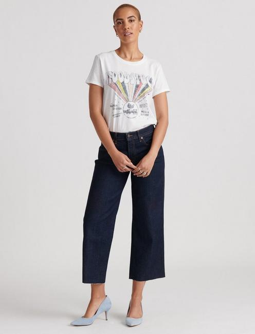 WOODSTOCK TEE, LUCKY WHITE