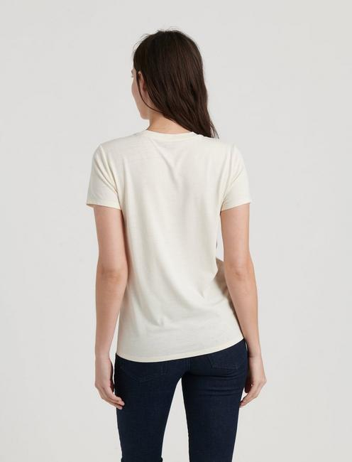 YOSEMITE STRIPE TEE, NATURAL