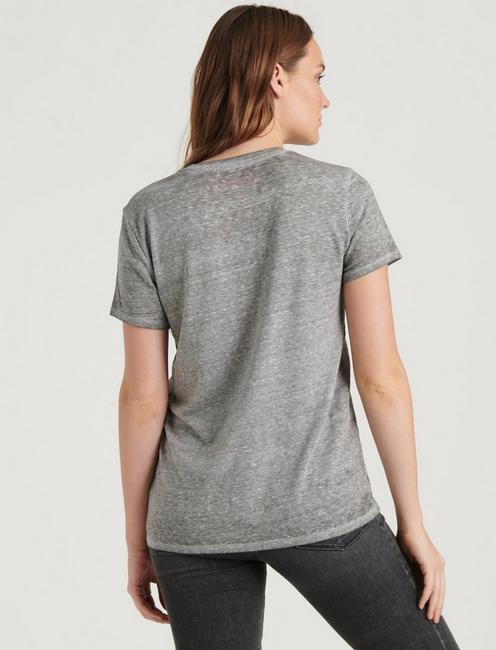 DIET COKE TEE, HEATHER GREY