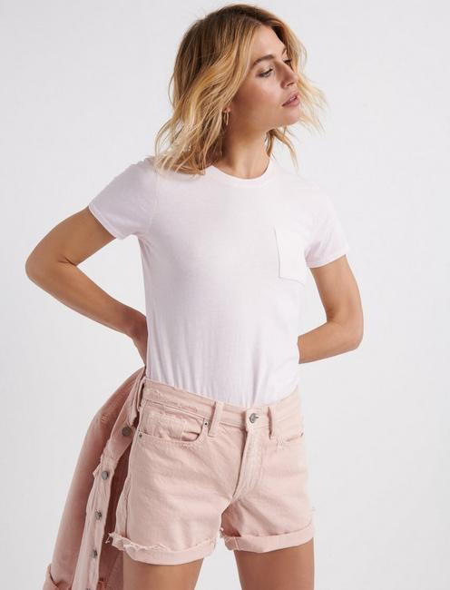 ONE POCKET TEE, PRIMROSE PINK