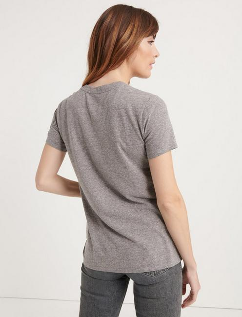 SUNSET BLVD TEE, HEATHER GREY