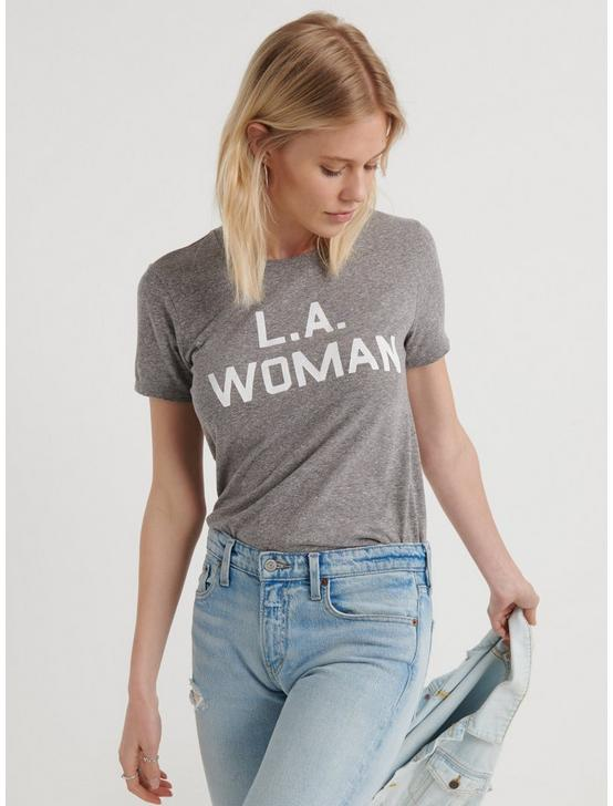 L.A. WOMAN TEE, HEATHER GREY, productTileDesktop