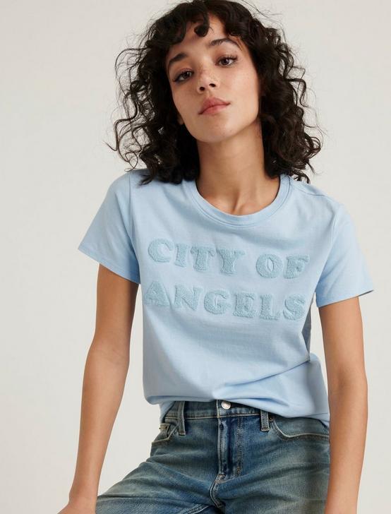 CITY OF ANGELS TEE, POWDER BLUE, productTileDesktop