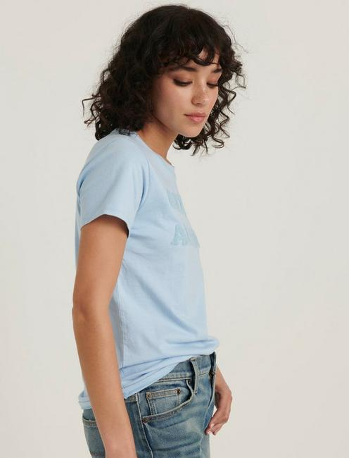 CITY OF ANGELS TEE, POWDER BLUE