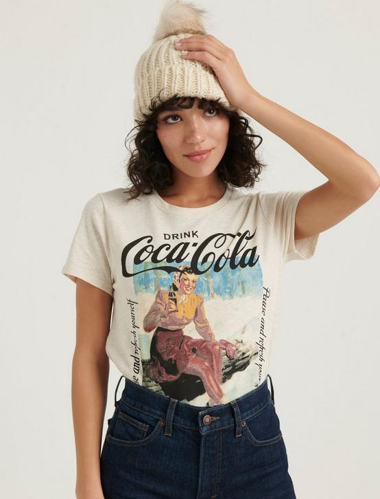 COCA COLA TEE, OATMEAL HEATHER, productTileDesktop
