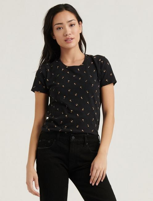 ALLOVER COCKTAIL TEE,