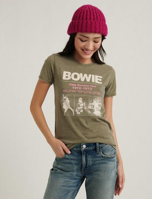 BOWIE STARDUST TOUR, Burnt Olive #18-0521 TCX
