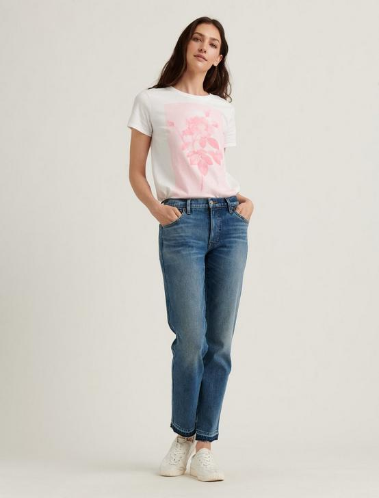 MONOCHROME ROSE TEE, LUCKY WHITE, productTileDesktop