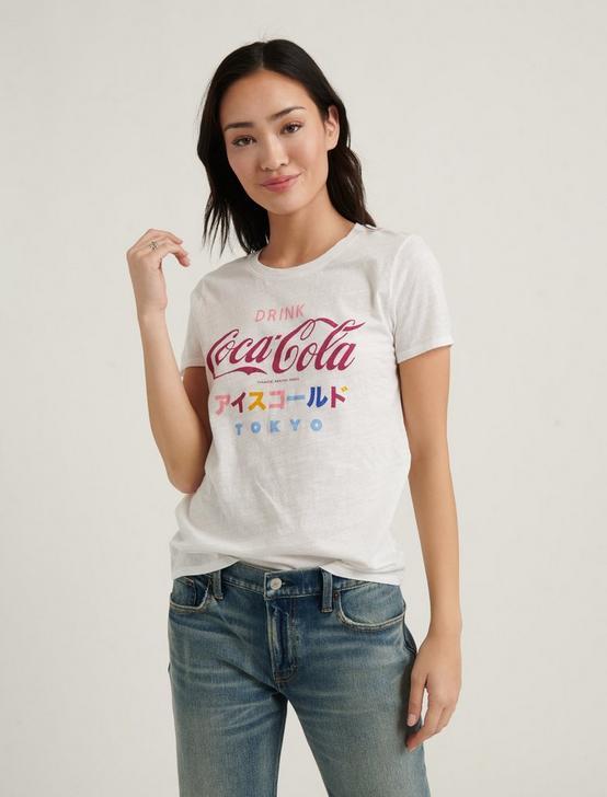 COCA-COLA TOKYO TEE, LUCKY WHITE, productTileDesktop
