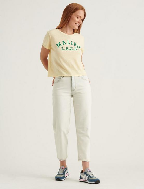 MALIBU L.A. BABY BOY TEE, MELLOW YELLOW, productTileDesktop