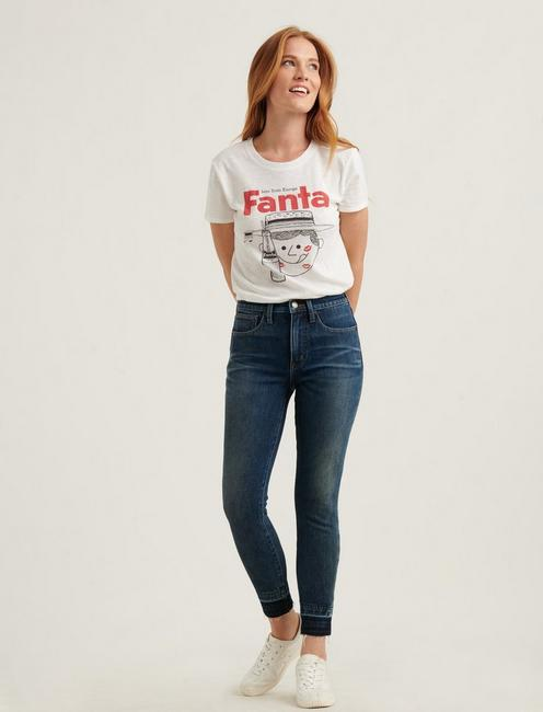 FANTA STRAW HAT TEE, LUCKY WHITE